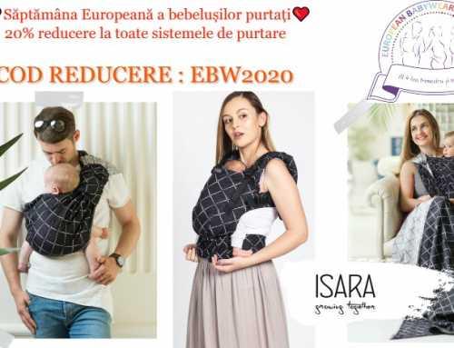 Săptămâna Europeană a Bebelușilor Purtați